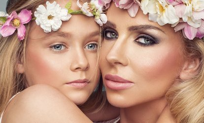 image for Mother and Daughter MAC Makeover Shoot with Prints and Refreshments at Flawless Makeover Studios (80% Off)