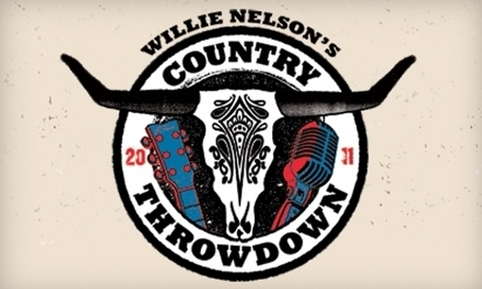 Willie Nelson at Coolray Field - Lawrenceville: $25 for One General-Admission Field Ticket to Willie Nelson's Country Throwdown at Coolray Field in Lawrenceville (Up to $61.25 Value)