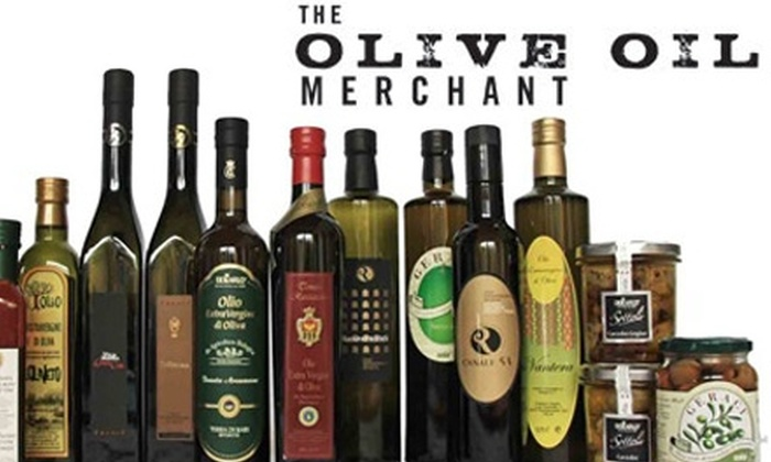 The Olive Oil Merchant: $20 for $40 Worth of Gourmet Olive Oil and Other Fine Italian Products at The Olive Oil Merchant