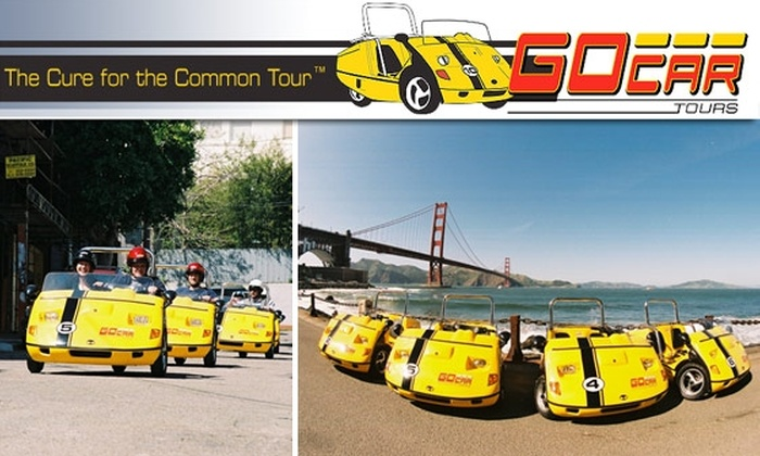 GoCar Rentals - Multiple Locations: $50 for a 2.5-Hour Narrated, GPS-Guided GoCar Tour