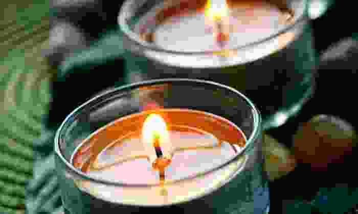Wicked Flame - Maurer: Soy Candles at Wicked Flame (Half Off). Two Options Available.