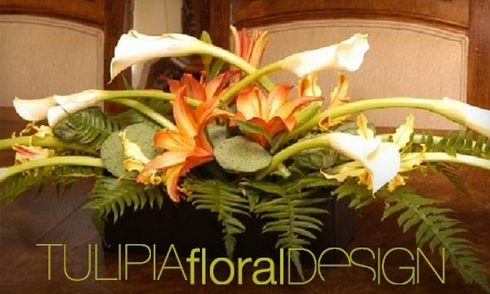 Tulipia Floral Design - River Forest: $25 for $50 Worth of Floral Arrangements and Décor at Tulipia Floral Design in River Forest
