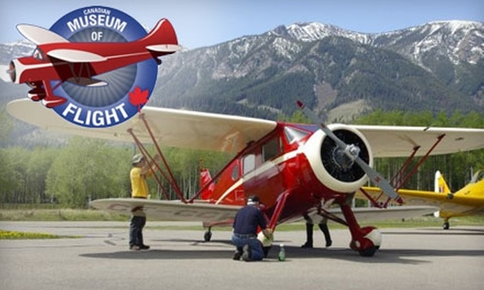 The Canadian Museum of Flight - Murrayville: Admission for Two or Family Admission to the Canadian Museum of Flight in Langley. Choose Between Two Options.