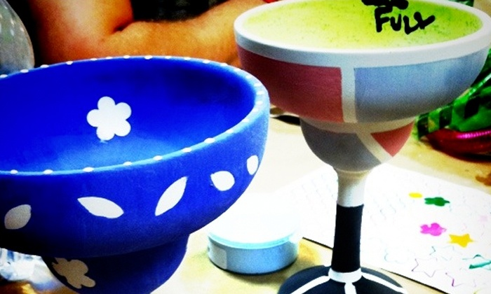 Art Attack - Flemington: BYOB Pottery Painting Class for 2, 4, or 12 at Art Attack (Up to 50% Off)