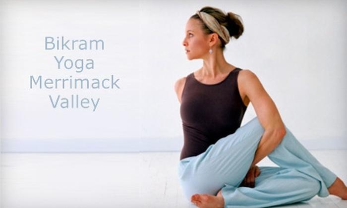Bikram Yoga Merrimack Valley - North Andover: $20 for 20 Yoga Classes at Bikram Yoga Merrimack Valley in North Andover