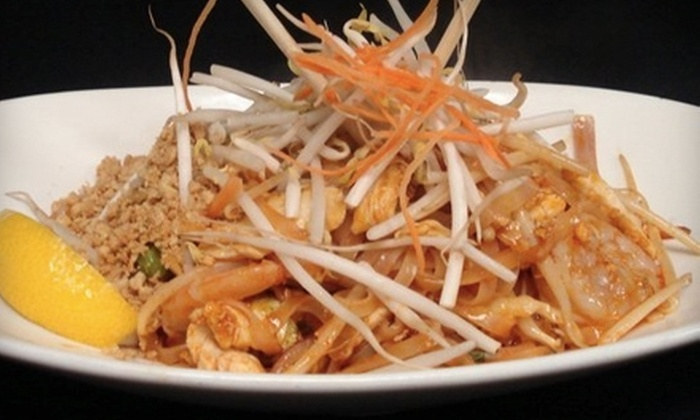 Sweet Basil Thai House - Mattydale: $12 for $25 Worth of Thai Fare and Drinks at Sweet Basil Thai House