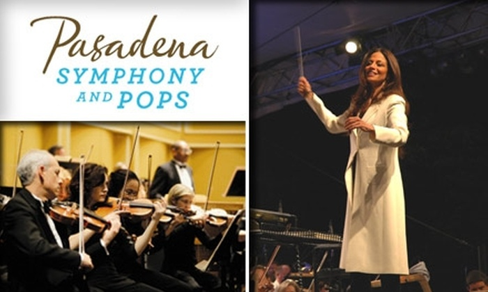 "Pasadena Symphony and POPS - Pasadena: A $25 Ticket to the Pasadena Symphony and Pops Performance of ""Holiday Pops"" at the Pasadena Civic Auditorium on 12/19, 8 p.m. See Below for Other Ticket Options."
