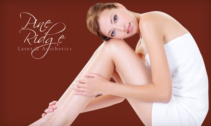 Pine Ridge Laser and Aesthetics - Briargate: $125 for Six Laser Hair Removal Treatments at Pine Ridge Laser & Aesthetics (Up to $795 Value)