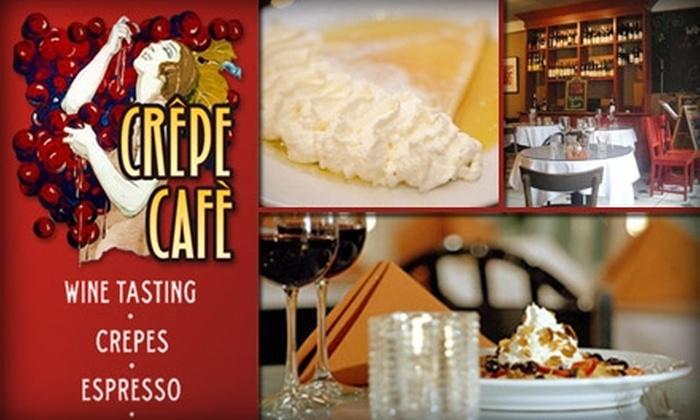 Crêpe Café - Ravenna: $15 for $30 Worth of Crêpes and Drinks at Crêpe Café