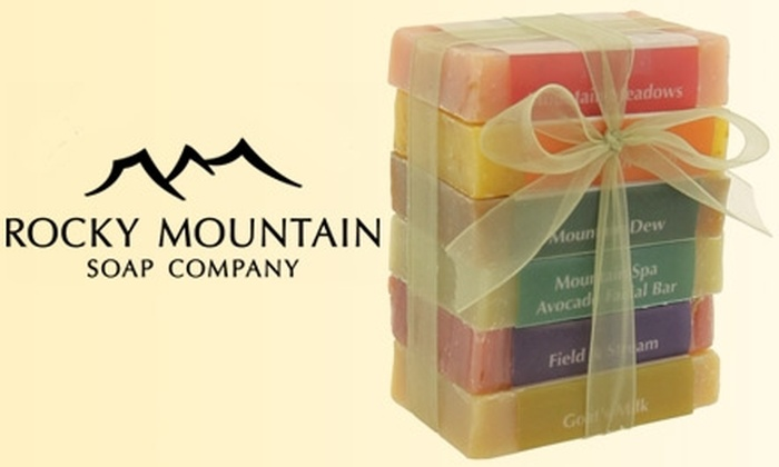 Rocky Mountain Soap Company - Multiple Locations: $12 for $25 Worth of In-Store Bath-and-Body Products from Rocky Mountain Soap Company