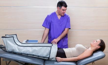 5 o 10 sesiones de presoterapia con masaje drenante desde 19,95 € en Peluquería Look Infinity