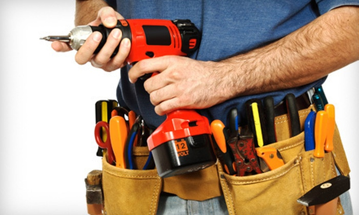 Olmstead Homesteads, Inc. - Raleigh / Durham: 2, 4, or 10 Man-Hours of Handyman Services from Olmstead Homesteads, Inc. (Up to 71% Off)