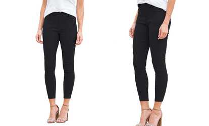 723954a63e4 Shop Groupon Reflection Women s Stretchy Pull-On Jeggings. Plus Sizes  Available.