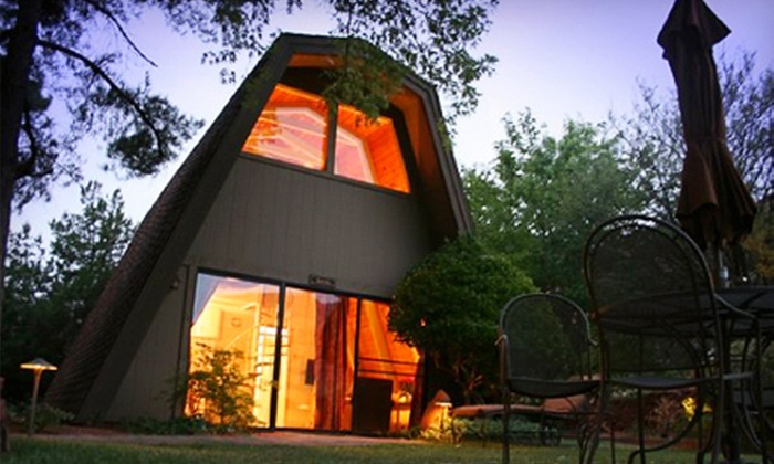 Red Agave Adventure Resort - Pine Del: Two-Night Chalet Stay for Up to Four at Red Agave Adventure Resort in Sedona (Up to Half Off). Four Options Available.