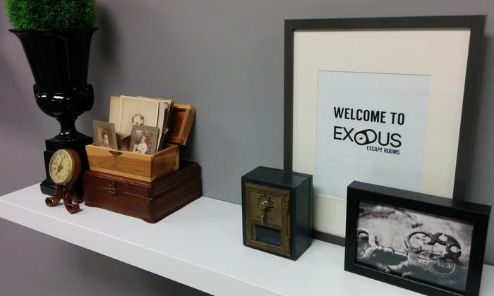 Exodus Escape Rooms - Exodus Escape Rooms Windsor: Escape-Room Game for Four or Six at Exodus Escape Rooms Windsor (Up to 43% Off). Four Options Available.