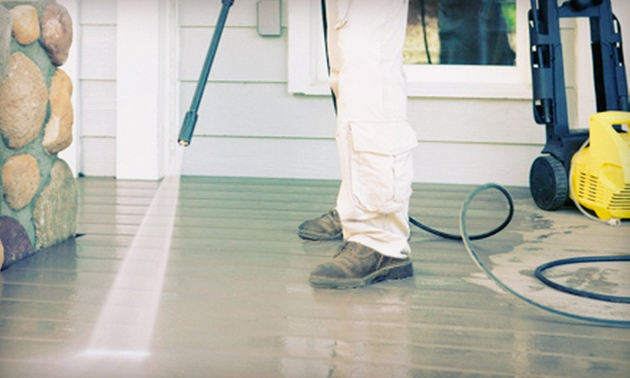 Reliable Cleaning & Janitorial Service LLC - Richmond: Power Washing or Window Cleaning from Reliable Cleaning & Janitorial Service LLC (Up to 53% Off). Three Options.