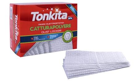 80 panni catturapolvere Tonika