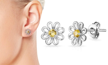 One or Two Pairs of Philip Jones Daisy Earrings or Hoops