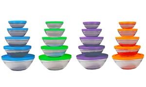 20 bols de conservation en verre
