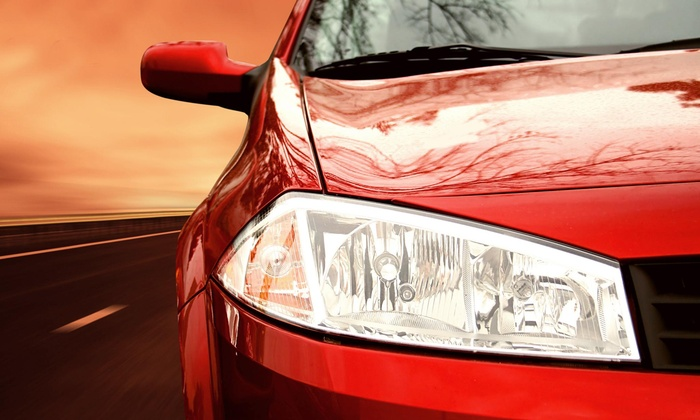 Queens Paint and Body - Dallas: Headlight Cleaning and Scratch Removal from Queens Paint and Body (49% Off)