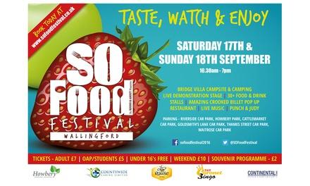 SO Food Festival