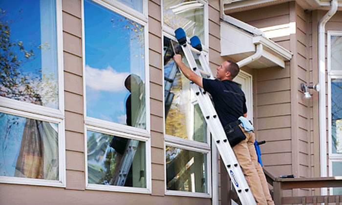Crystal Clean - Des Moines: Exterior Window Cleaning of 45 or 65 Windows in April, May, or June from Crystal Clean (Up to 53% Off)