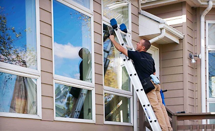 Exterior Window Cleaning of up to 45 Windows, Valid through April (a $115 value) - Crystal Clean in