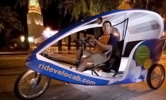 Velocab - Sacramento: Two-Hour Covered-Bicycle Ricksha Pub Crawl or History Tour for Up to Three from Velocab (51% Off)