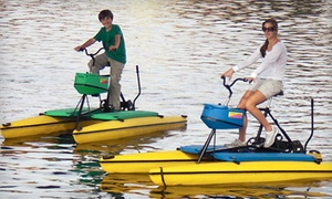 Two Options for Boat Rental from Tempe Town Lake Boat Rentals & Pleasant Harbor Boat Rental (Up to 53% Off)