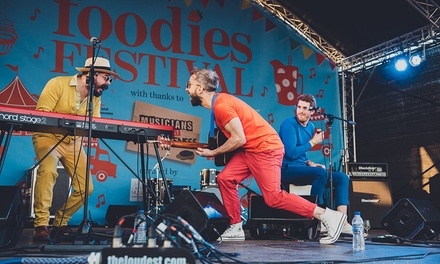 Foodies Festival Cambridge, Adult or VIP Tickets, 2830 June 2019, Cambridge