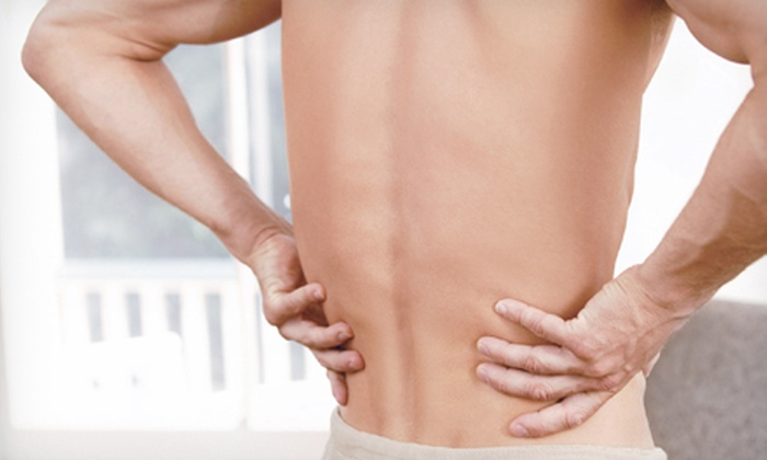 Hancock Spine & Rehab - Wichita: $45 for an Exam, Alignment Scan, Adjustment, and 3 Soft-Tissue Sessions at Hancock Spine & Rehab (Up to $306 Value)