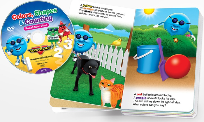Up To 71% Off On Rock 'N Learn Board Book/DVD Set
