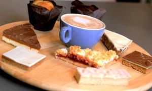 Acoustic Cafe: Hot Drink and Cake for One or Two at Acoustic Cafe