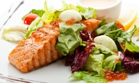 Two-Course Italian Meal with Wine at Salvatores (26% Off)