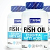 Buy 2 Get 1 Free: USN Fish Oil Dietary Supplement