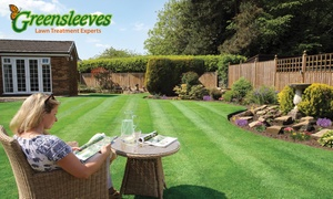 Greensleeves Lawn Care: 100, 200 or 400 Square Metre Lawn Treatment from Greensleeves Lawn Care (Up to 58% Off)