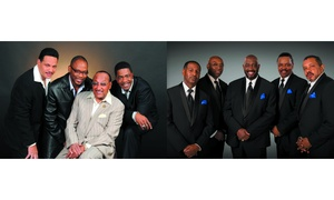 The Four Tops and The Temptations Live: The Four Tops and The Temptations Tickets, 21 - 27 October, Multiple Locations (Up to 26% Off)