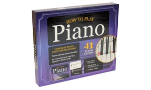How to Play Piano Kit and Book
