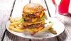 Die Kuh die lacht - Mehrere Standorte: Burger inkl. Beilage und Dessert für Zwei od. Vier im Restaurant Die Kuh die lacht (bis zu 44% sparen*)