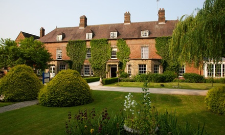 Derbyshire: Standard Double Room for Two with Breakfast and Option for TwoCourse Dinner at Risley Hall Hotel
