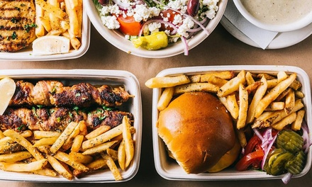 $28 for Two Platters for Two at Pita Station - Manhasset ($38 Value)
