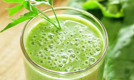 $10 for $20 Worth of Juice, Smoothies, and Salads at Red Apples Juice Bar