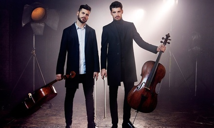 2Cellos on Friday, September 15, at 8 p.m.
