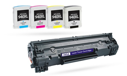 TonerSelection HP Printer Ink and Toner from $22.99–$43.99