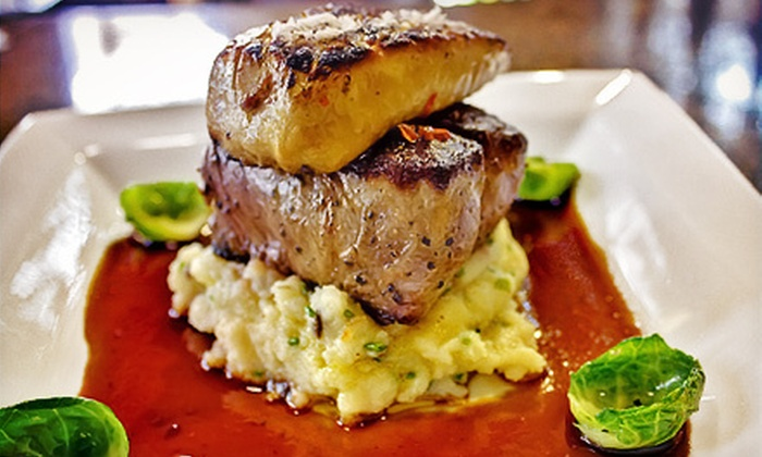 ViaVita Café & Wine Bar - Downtown Bellevue: $20 for $40 Worth of European Dinner and Drinks at ViaVita Café & Wine Bar