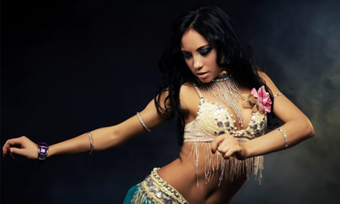 Amoora Dance & Fitness Studio - Amoora Dance and Fitness : $25 for Four Belly-Dance Classes at Amoora Dance & Fitness Studio ($60 Value)