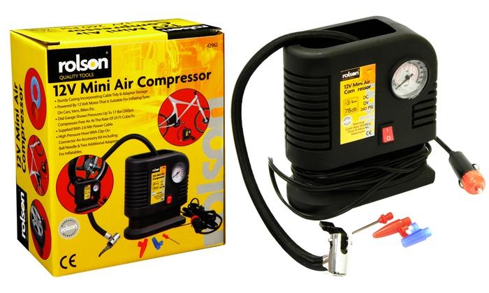 Groupon Goods Global GmbH: Compresseur d'air Roison 12V