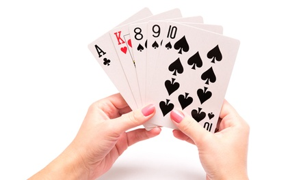 One or Two Sets of Jumbo Playing Cards