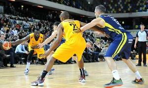 London Lions: London Lions v Bristol Flyers: Premium or Family Ticket, The Copper Box Arena, 2 October (Up to 58% Off)