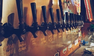 Beer Tasting and 22 Oz. Bombers to Go for Two or Four at Old Orange Brewing Company (Up to
